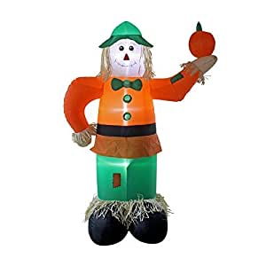 New scarecrow halloween animatronic for Amazon christmas lawn decorations