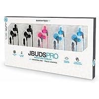 JLab Audio JBudsPRO Premium in-ear Earbuds with Mic, Guaranteed Fit, GUARANTEED FOR LIFE - 5 pk.