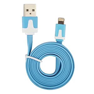 Buy Lightning 8Pin Colorful Data Cable for iPhone 5,iPad Mini,iPad 4,iPod (100cm-Length) , White