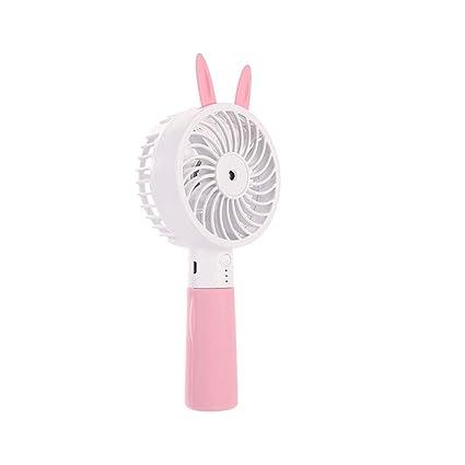Eliky USB Fan Cute Cat Ear Bolsa Nevera portátil Recargable ...