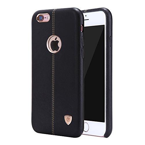 Meimeiwu ENGLON Leder Cover Fall Hard Case Schutzhülle für iPhone 6 6S - Schwarz