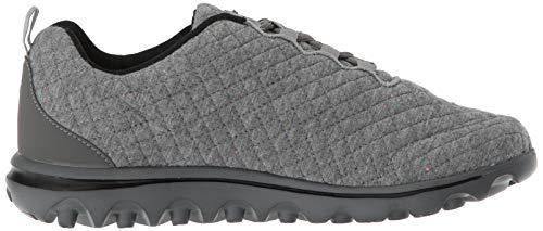 Walking Quilt Shoe TravelActiv Woven BlackGrey Propét Women's Grey tq6Pwta