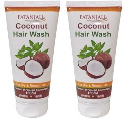 Patanjali Coconut Hair Wash 150ml (Pack of 2) - Pamherbals® by Patanjali