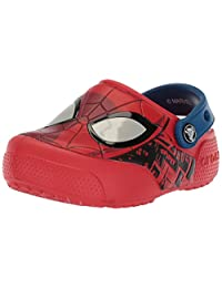 Crocs Boys' FL Spiderman Lght K Clog