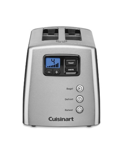 Cuisinart CPT-420 Touch to Toast Leverless 2-Slice Toaster ()