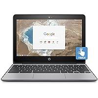 2017 HP 11.6 Inch Touch Screen Premium Chromebook (Intel Celeron N3060, 4GB Memory, 16GB eMMC, WiFi 802.11ac, Bluetooth 4.0, USB 3.1, Webcam, HDMI, Chrome OS, Silver) (Certified Refurbished)