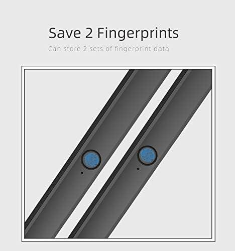 Leoie L9s Fingerprint Lock Multi Function Management Book Plan Notepad Agenda Business Meeting Notebook