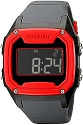 Freestyle Men's 101994 Shark Oversize Case Digital Retro Digital Red Watch