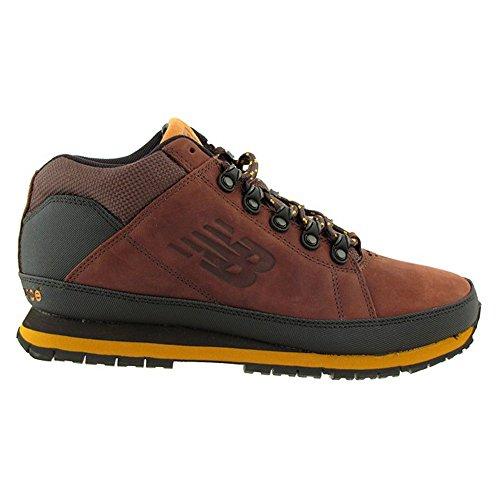 Leather Balance yellow New Trekking Genuine Brown Brown Boots wzSqETSv