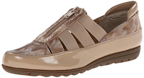 Plates Ferns Chaussures Femmes Patent Vaneli Ecru Efq857