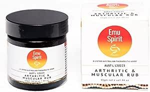 EMU SPIRIT Arthritic and Muscular Rub, 55 gram