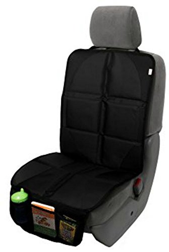 - Car Seat Protector for Under Car Seat - Covers Entire Seat - Premium Durable Construction - Seat Cover for Leather and Upholstery Car Seats - Works for All Kid Seats and Baby Seats