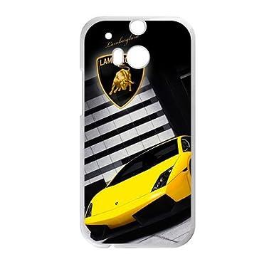 Sanlsi Lamborghini Sign Fashion Cell Phone Case For Htc One M8