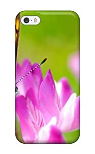 OEOYlLP917EvEzV Rachel B Hester Beautiful Butterfly On Flower Feeling Iphone 5/5s On Your Style Birthday Gift Cover Case