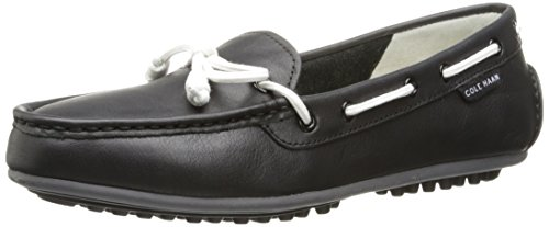 Cole Haan Women's Grant Escape Slip-On Loafer, Black Leather, 8.5 B - Haan Shoes Cole Women Driving