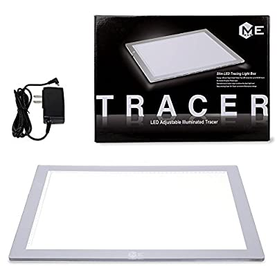 ME456 LED Light Box Light Pad Light Table for Tracing by ME456