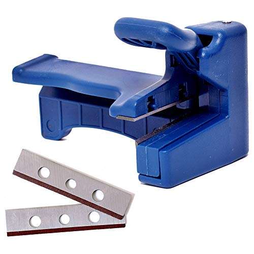 Woodworking Edge Trimmer, High Carbon Steel Blades Edge Banding Machine Trimming Device Woodworker Manual End Cutter For Wood, Plastic, PVC, Plywood