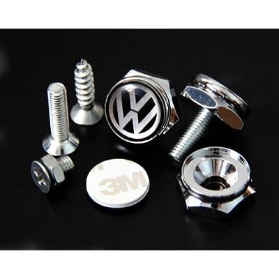 VW Volkswagen License Plate Frame Bolts Screws: Automotive