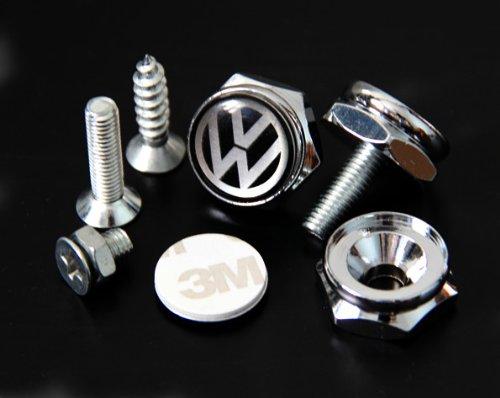Vw Volkswagen License Plate Frame Bolts Screws Import It All