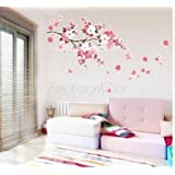A NEW Sakura Flower Removable Wall Sticker Paper Mural Art Decal Home Room Decor by EXCITES
