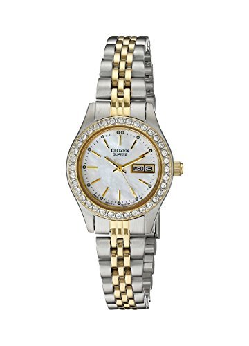 Citizen Women's Quartz Watch with Crystal Accents, EQ0534-50D