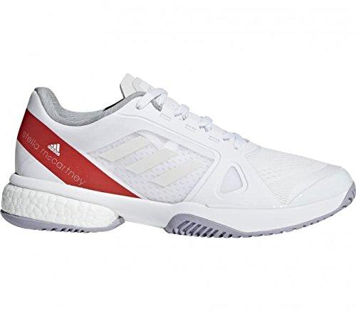 Adidas Kvinder Tennissko Asmc Barrikade Boost Hvid BQ2mxdtfuK