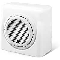 FS110-W5-CG-WH - JL Audio 10 4-Ohm Marine Enclosed White Subwoofer