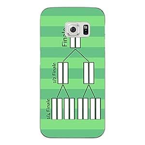 """Disagu Design Protective Case para Samsung Galaxy S6 Funda Cover """"Spielplan 2014"""""""