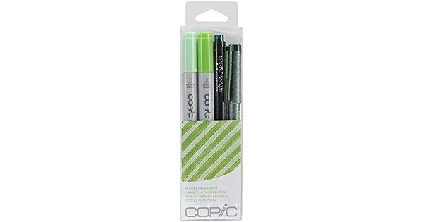 Copic CIAO Marcadores de arte Twin Tip Conjunto de 6 Colores-mar