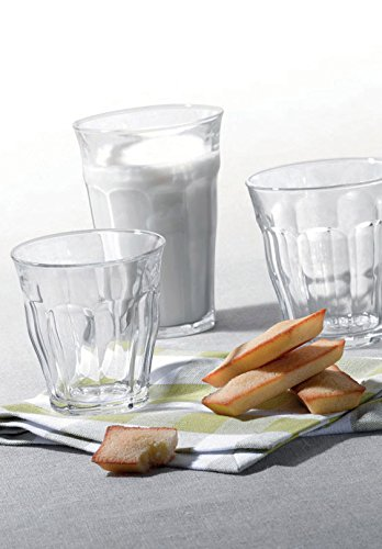 7-3//4-Ounce 1026AB06A0111 Set of 6 Duralex Made In France Picardie Clear Tumbler