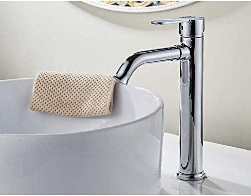 ZT-TTHG バスルームのシンクは、スロット付き浴室の洗面台のシンクホットコールドタップミキサー流域の真鍮シンクミキサータップ非震とうに流域の蛇口ホットとコールド細い銅の洗面台の蛇口ホームキッチン蛇口タップ