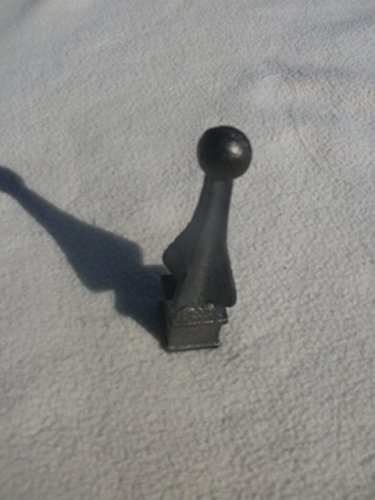 Cast Iron Spear, Finial, Spire, Ornamental Fence Topper 3/4