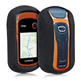 kwmobile Case for Garmin eTrex Touch 25/35 - GPS handset navigation system silicone protective case - outdoor navigation device case cover Black