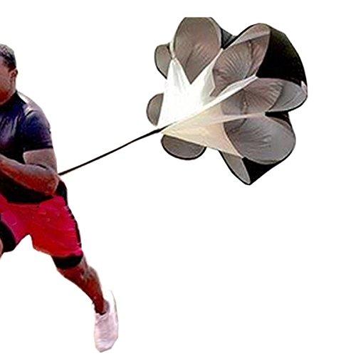 "BININBOX 56"" Speed Training Resistance Parachute Umbrella Running Fitness Explosive Power Strength Soccer Football Sport"