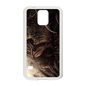 Scary Creative Dinosaur Pattern Hot Seller High Quality Case Cove For Samsung Galaxy S5