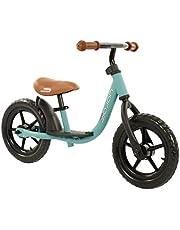 Sajan Loopfiets - Mat-Turquoise Traningsfiets - Balance Bike - Fiets Zonder Pedaal