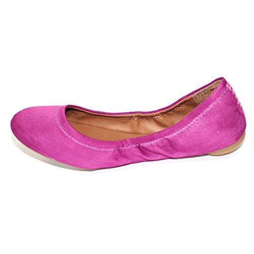 Lucky Brand vertical y cierre diseño de bailarina, lux de raso, de £115 púrpura - morado