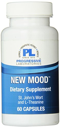 Progressive Labs New Mood Supplement, 60 Count