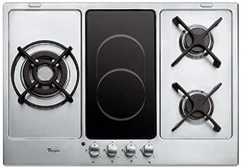 Whirlpool AKT 759 IX placa de cocción Mixta Gas y eléctrico ...