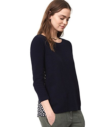 ann-taylor-loft-womens-filigree-mixed-media-top-large-forever-navy