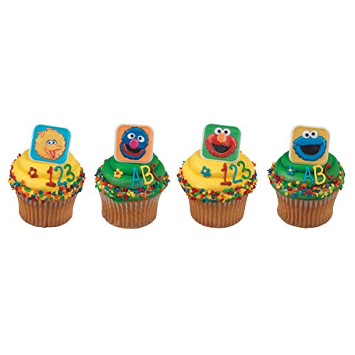 DecoPac Sesame Street Character Cupcake Rings - 24 ()