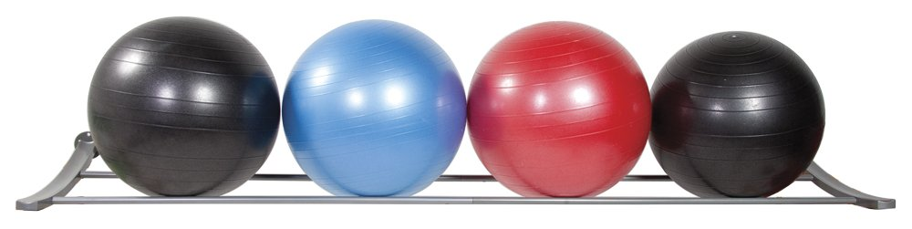 Power Systems Elite Stability Ball Wall Storage Rack