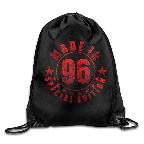 MaNeg Made In 96 Gym Drawstring Backpack&Travel Bag (Backpack Ferragamo)