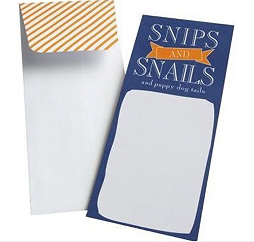 Mara Mi Snips & Snails and Puppy Dog Tails 10 Baby Shower Invitations Cards