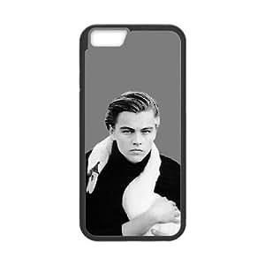 iPhone 6 4.7 Inch Cell Phone Case Black Leonardo Dicaprio UCB 9D Back Case