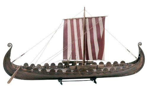 Billing Boats B720 1:25 Scale Oseberg Viking Ship Model Construction -