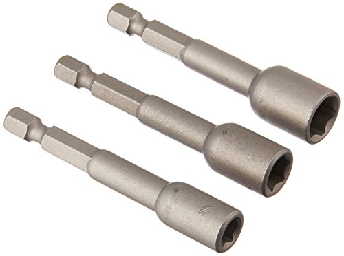 Irwin Tools 3545993C Magnetic Nutsetters 2-9/16-Inch, 3 Piece Set ()