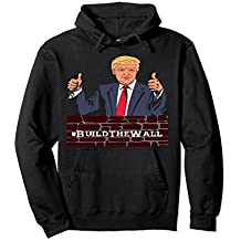 Build The Wall Border Protection Sweat Shirt Hoodie