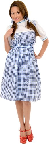 Charades Women's Dorothy Costume, 1X (18 - 22) (Munchkin Costumes Wizard Of Oz)
