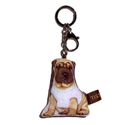 Sansukjai Key ring Key chain Sharpei Fabric Dog lover High 10 - Store Tiffany Locator Usa